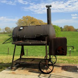 Steel Wheels, Smoker, BBQ